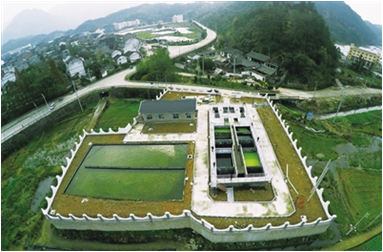 韩城市农村环境综合整治示范项目生活污水污染物治理工程项目